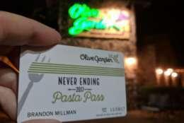 The Sterling Olive Garden. (WTOP/Brandon Millman)