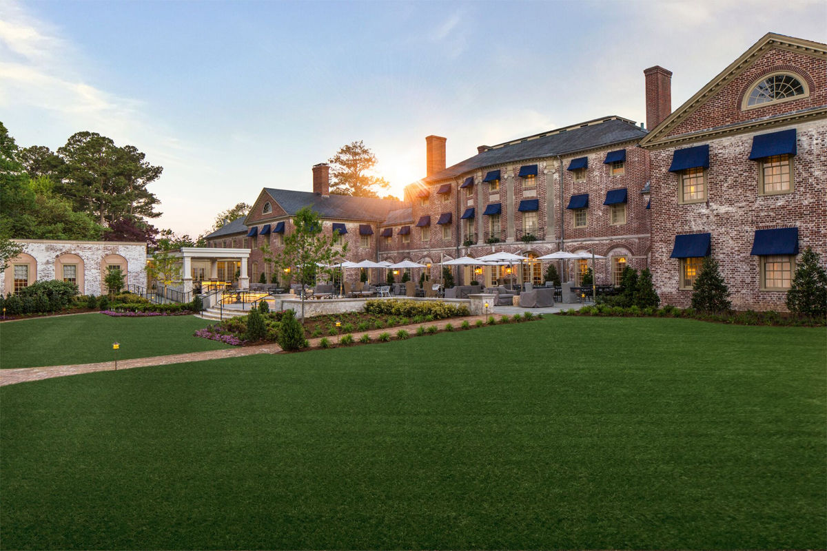 The iconic Williamsburg Inn in Colonial Williamsburg is one of only 120 hotels in North America to receive the highest hotel rating from AAA. (Courtesy Williamsburg Inn)