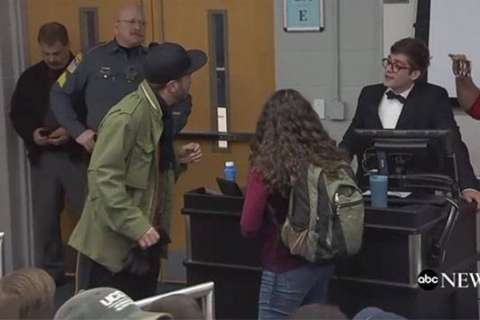 Conservative speaker arrested at 'It's OK to be White' event at UConn