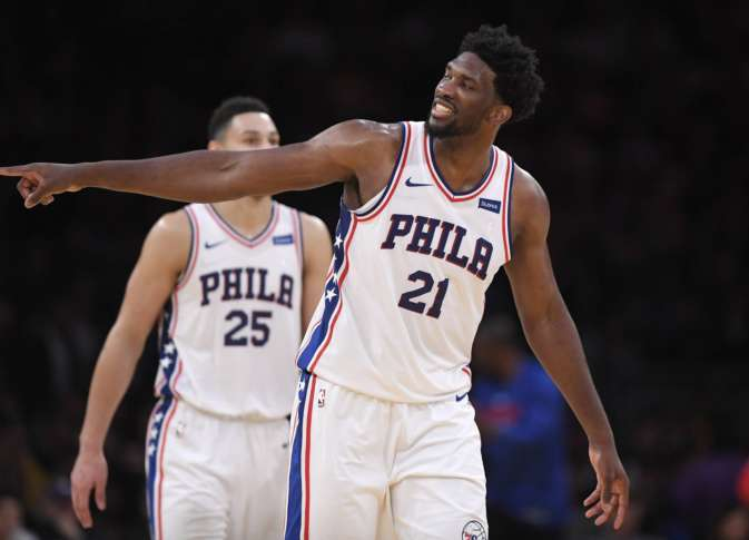 Sixers' Joel Embiid sits out shootaround, but will play vs. Lakers