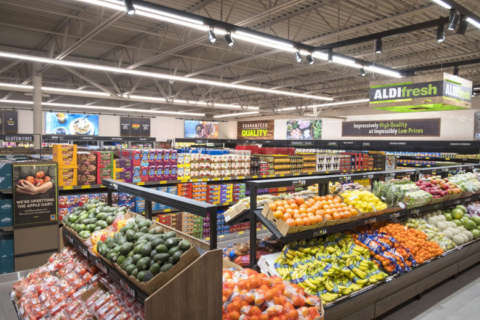 Ashburn Aldi opens this week