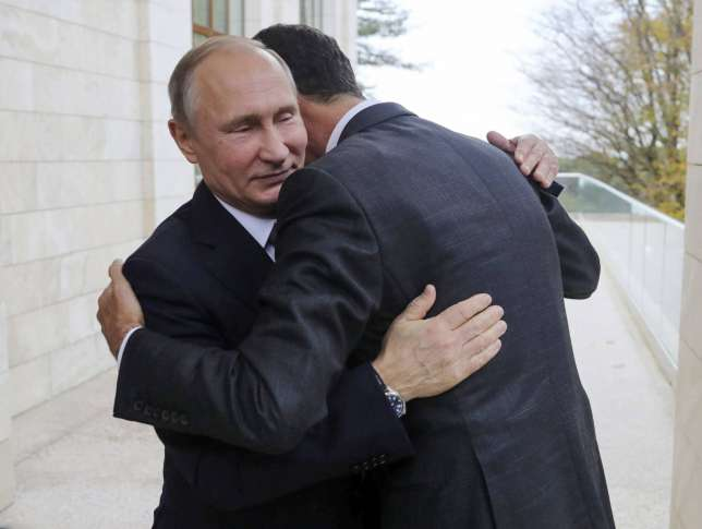 Russia's Putin hosts Syria's Assad for talks