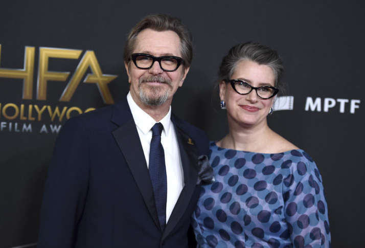 Related image Gary Oldman wife Gisele Schmidt
