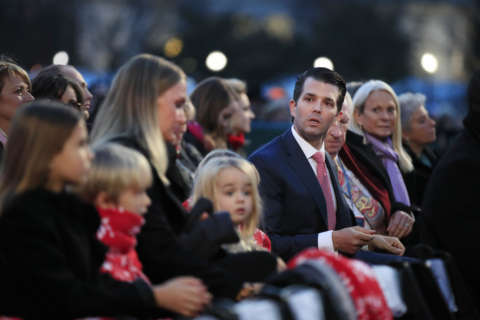 Letter with unidentified substance delivered to Trump son's apartment