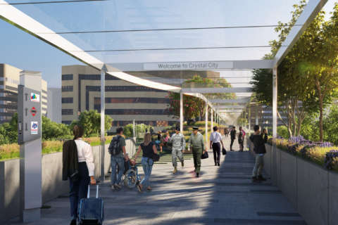 Crystal City BID proposes pedestrian walkway to Reagan National