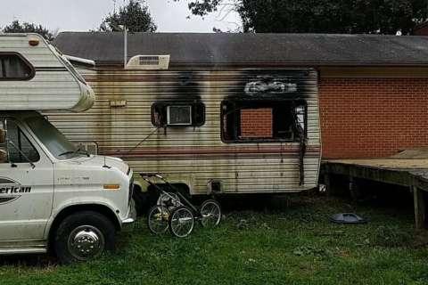 1 dies in Waldorf camper fire