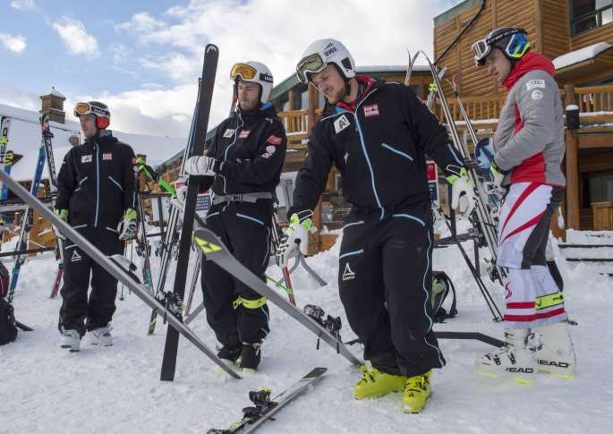 Svindal third on return as Feuz claims downhill glory