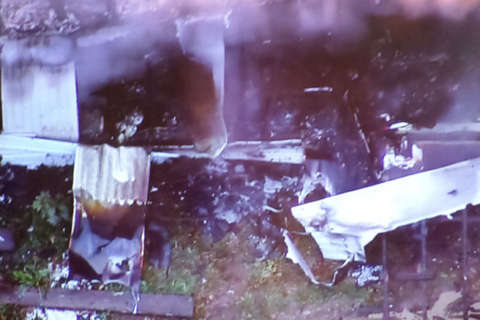 1 dead after fire rips through Charles County mobile home