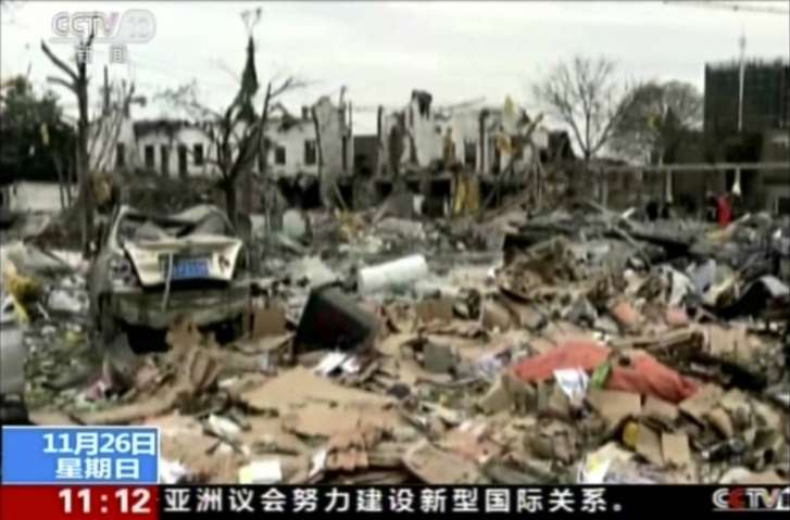 Two dead, 30 injured in China explosion