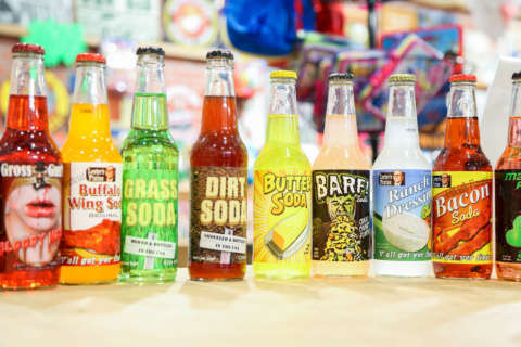 Barf, dirt, bacon: Weird soda flavors you'll find at Va. soda pop, candy shop