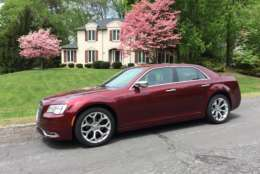 The Chrysler 300C Platinum is an intriguing car in the large sedan class with bold styling and a luxury interior. Car guy Mike Parris says it's what a large premium sedan should be. (WTOP/Mike Parris)