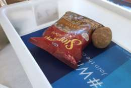 Can you carry on stuffing and potatoes? Yes, says the TSA. (WTOP/Dennis Foley)