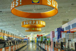 Its stores are all newly-constructed buildings averaging about 20,000-square-feet with an easy-to-shop layout that consists of only six aisles. (Courtesy Lidl)