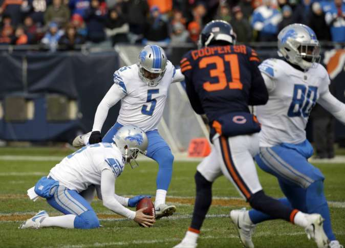 Stafford and Prater rally Lions past Bears 27-24