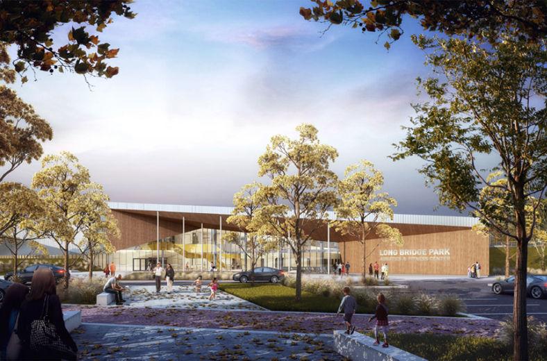Arlington Plans For New Long Bridge Park Aquatics Center Advance Wtop