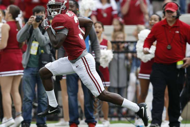 No 1 Alabama Blasts Mercer 56 0 Moves On To Iron Bowl Wtop