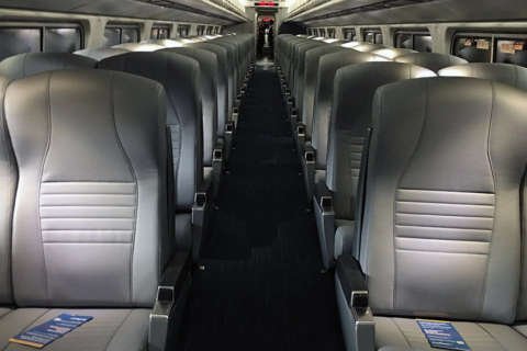 Amtrak unveils comfier seats, better lighting in coaches