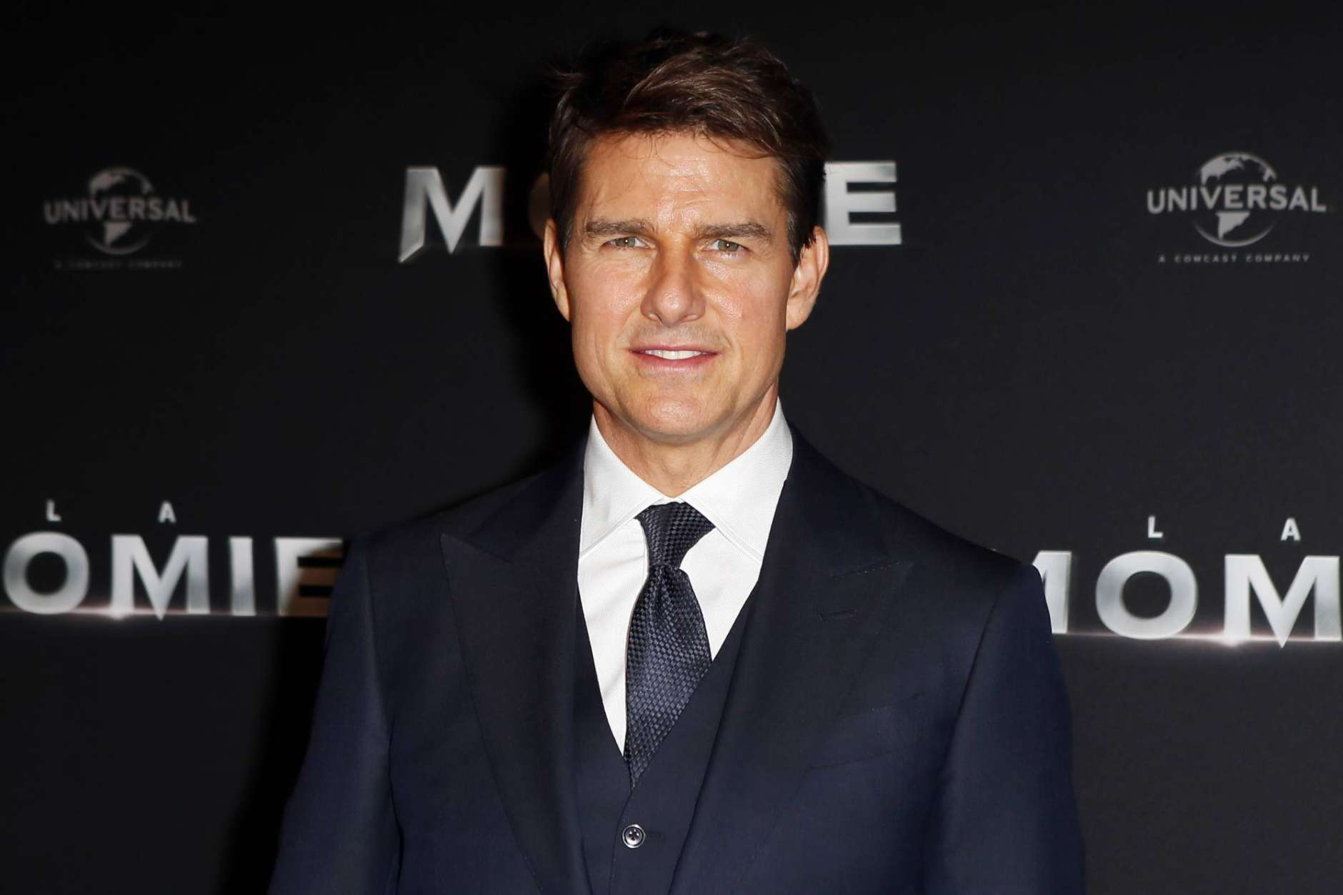 "FILE - In this Tuesday, May 30, 2017, file photo, Tom Cruise poses during a photocall for the French premiere of ""The Mummy"" in Paris, France.  Cruise, Stephen Colbert and the late Supreme Court Justice Antonin Scalia are among the 51 people nominated for the New Jersey Hall of Fame. The hall honors people in five categories who live or have lived in New Jersey. (AP Photo/Francois Mori, File)"