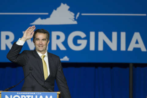Northam tops Gillespie for Va. governor, leads Democratic statewide sweep