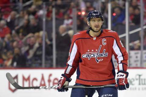 Despite fast start, Alex Ovechkin still trails all-time hat trick leaders