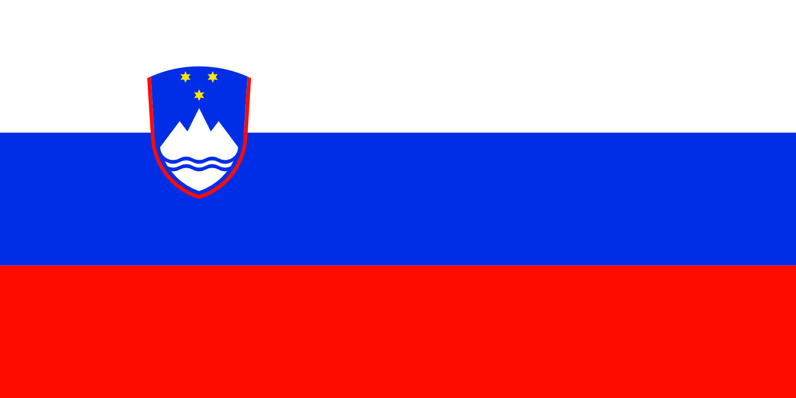 This is the Slovenian flag. Pretty similar, no? (Courtesy Flagpedia)