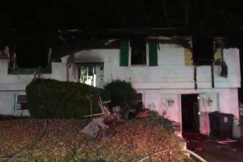 1 woman dead, firefighters hurt after Prince George's Co. fire
