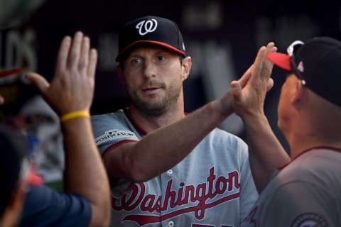 Scherzer beats Kershaw to win second straight NL Cy Young Award