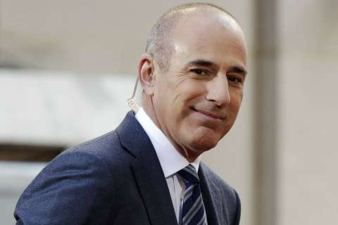 Matt Lauer apologizes, says he's 'soul searching'