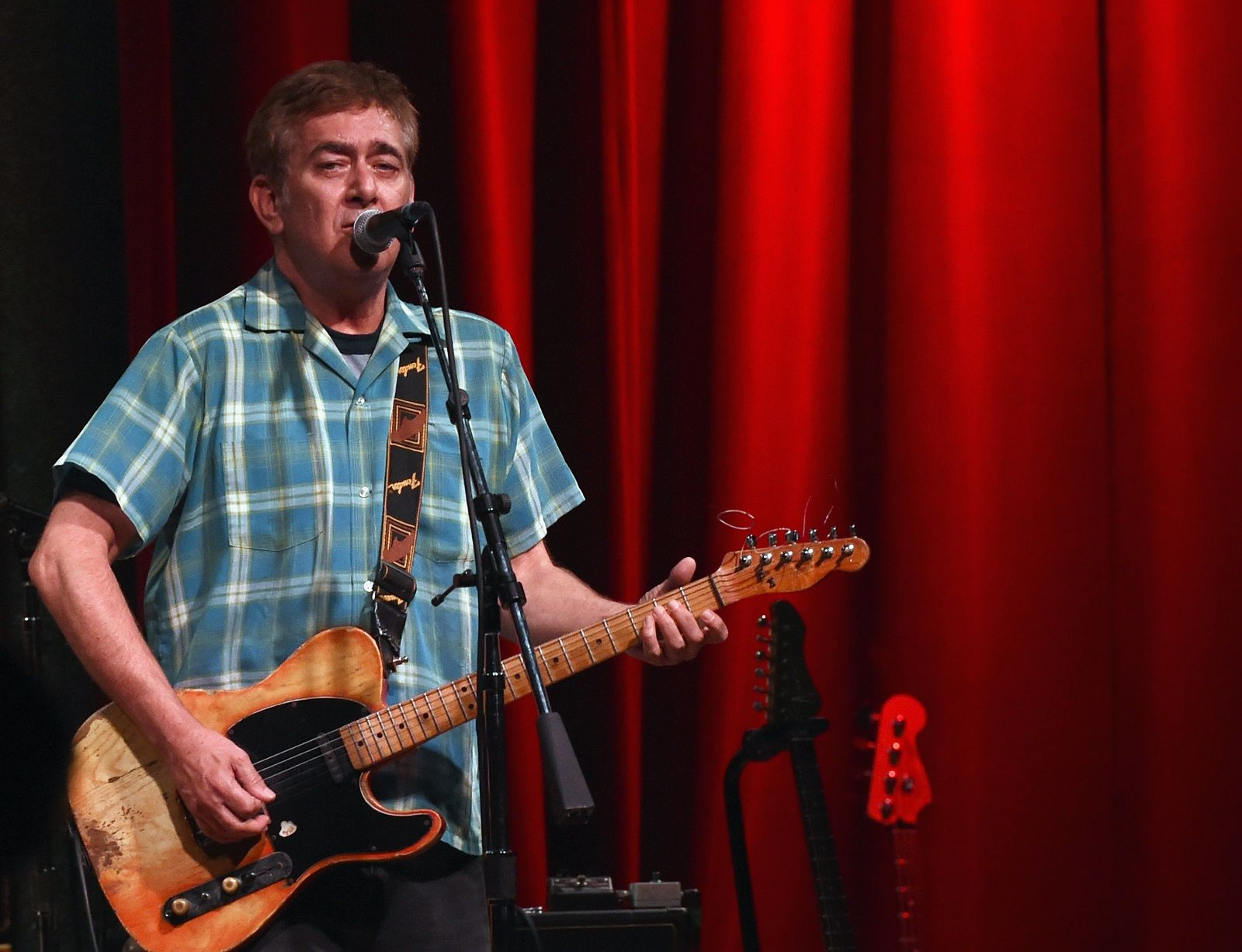"""NASHVILLE, TN - JULY 28:  Singer/Songwriter Tommy Keene performs at City Winery Nashville on July 28, 2017 in Nashville, Tennessee. Tommy Keene, whose 1984 hit """"Places That Are Gone"""" established the Bethesda-born singer-songwriter as one of new wave's most promising stars, has died at 59. (Photo by Rick Diamond/Getty Images)"""