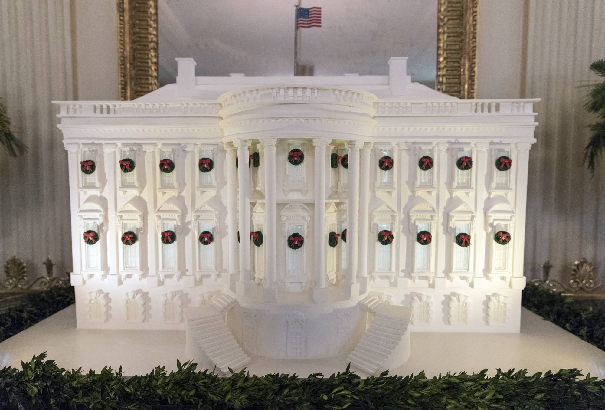 First Lady Goes With Classic Traditional Christmas Decor Wtop