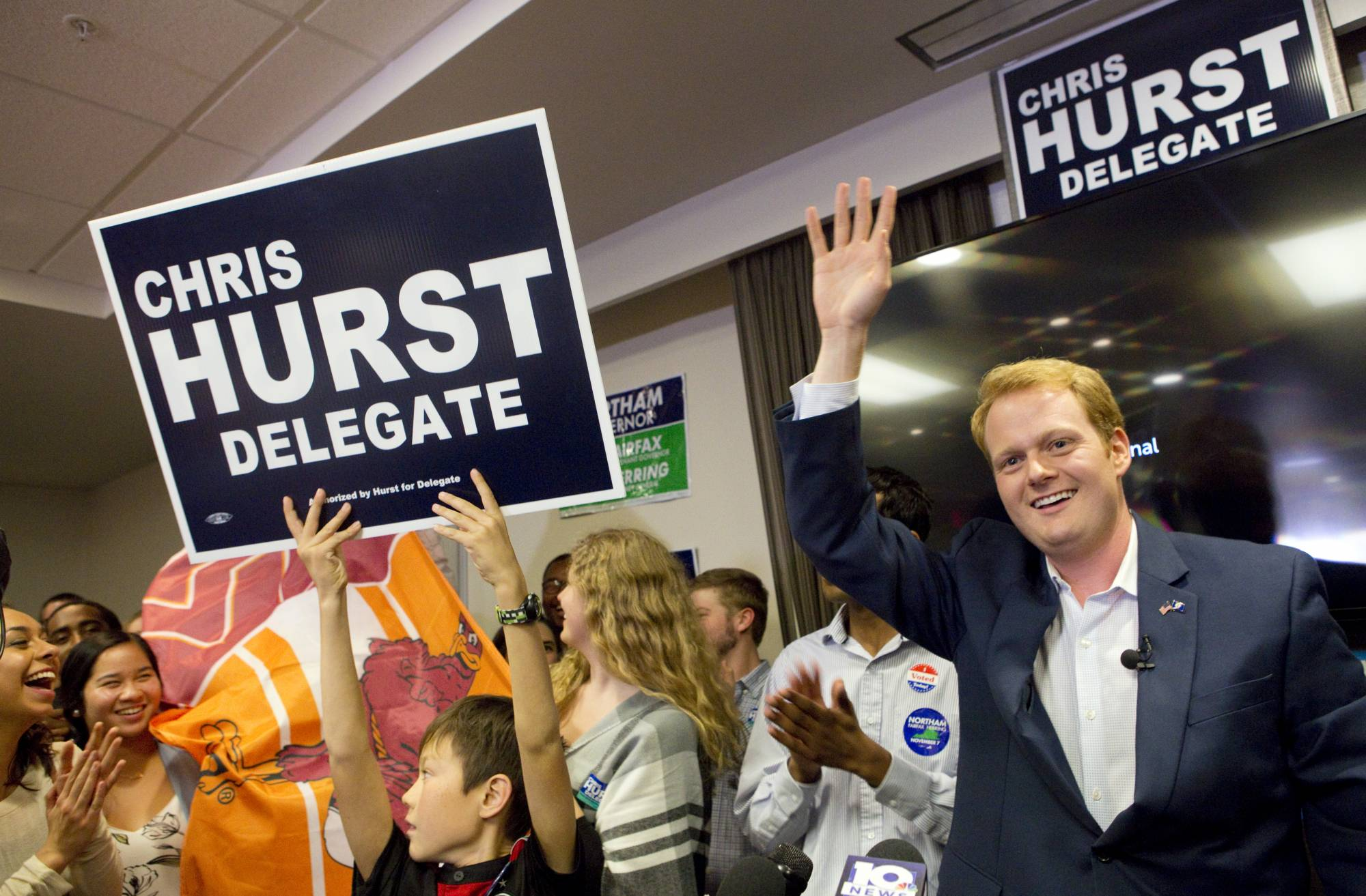 'Bittersweet' victory for Va. Democrat Chris Hurst, whose girlfriend was killed on live TV
