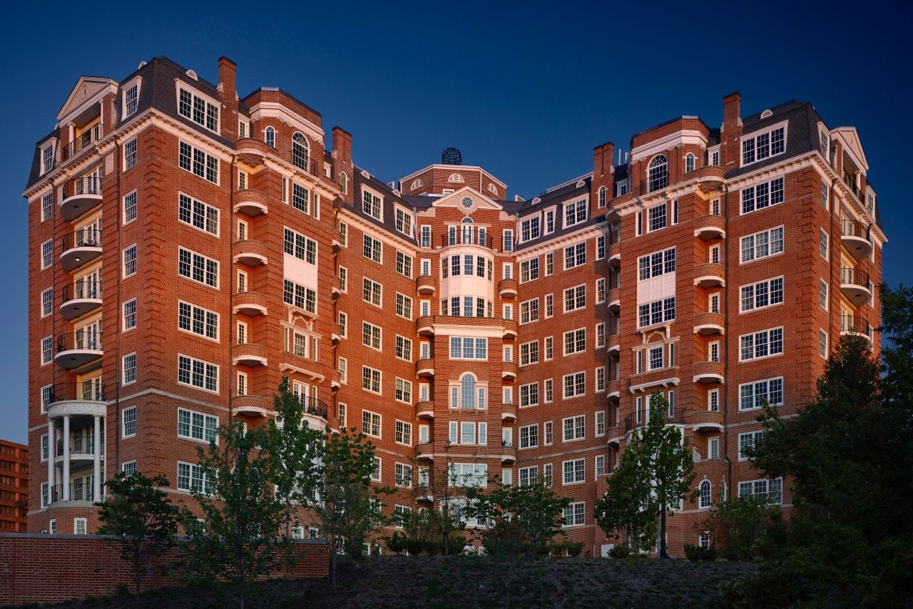 The two-year redevelopment of D.C.'s iconic Wardman Tower, in Woodley Park, is complete, and the high-end condos are now on the market. (Courtesy JBG Smith)
