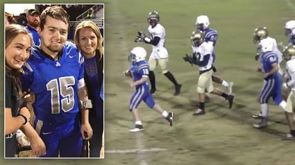 Va. teen with cerebral palsy scores 80-yard touchdown (Video)