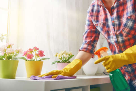 Save time with these speed-cleaning tips