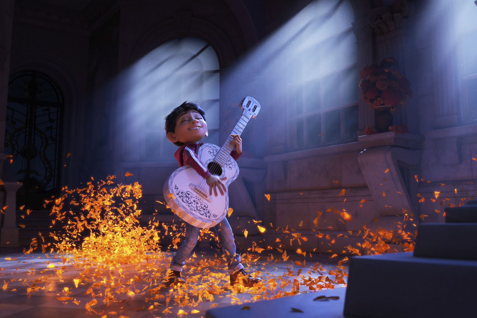 Movie Review Pixar S Coco Strums The Family