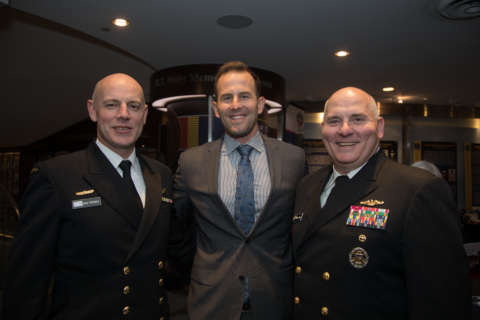 Baseball heroes honored at US Navy Memorial