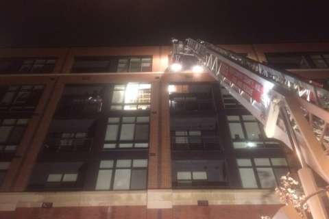 Rockville apartment fire displaces 9 families