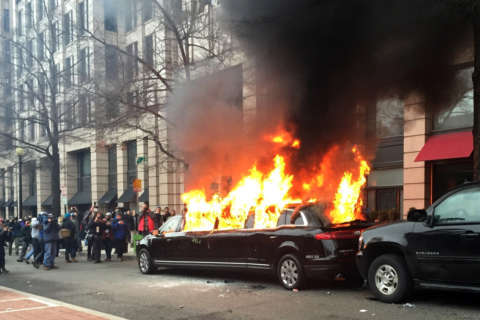 Witnesses describe destruction during Inauguration Day riots