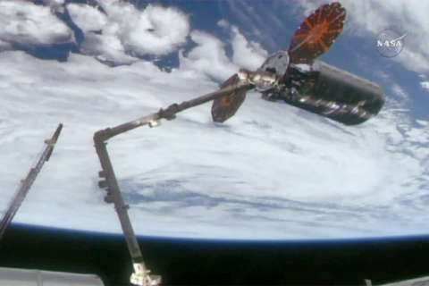 International Space Station receives supplies from Dulles-based company