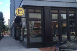 Photo shows the outside of Ted's Bulletin, a restaurant