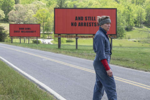 Movie Review: 'Three Billboards' puts our funny bone through a wood chipper