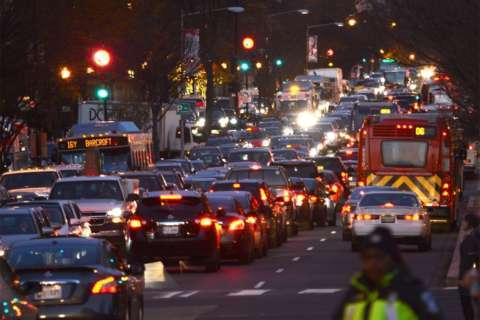 Major traffic congestion expected for Christmas tree lighting near White House