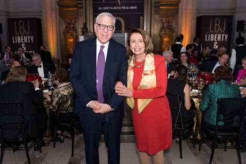 Rubenstein honored by LBJ's foundation for 'patriotic philanthropy'