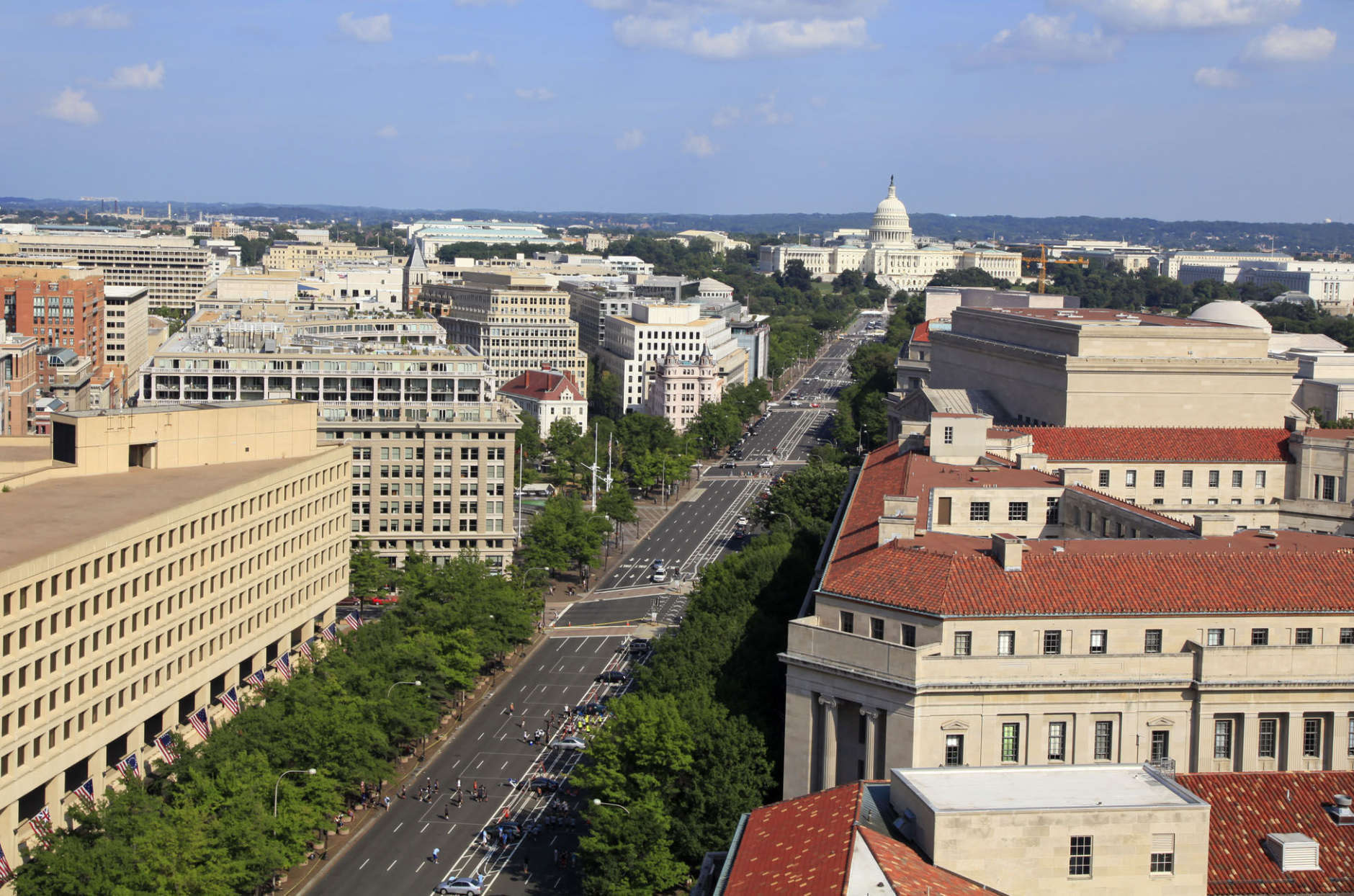 D.C.'s iconic Pennsylvania Avenue is seen in this file photo. (Thinkstock)