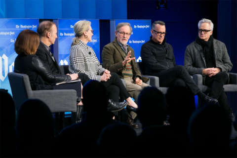 Hollywood heavy-hitters promote Washington Post drama in DC