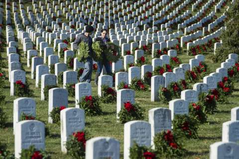 Arlington National Cemetery unveils new section, buries 2 Civil War soldiers' remains