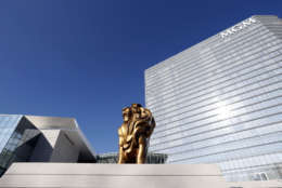 The largest portion of Maryland's casino revenue comes from MGM National Harbor. (AP Photo/Alex Brandon)