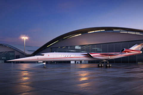 Lockheed partners on supersonic business jet