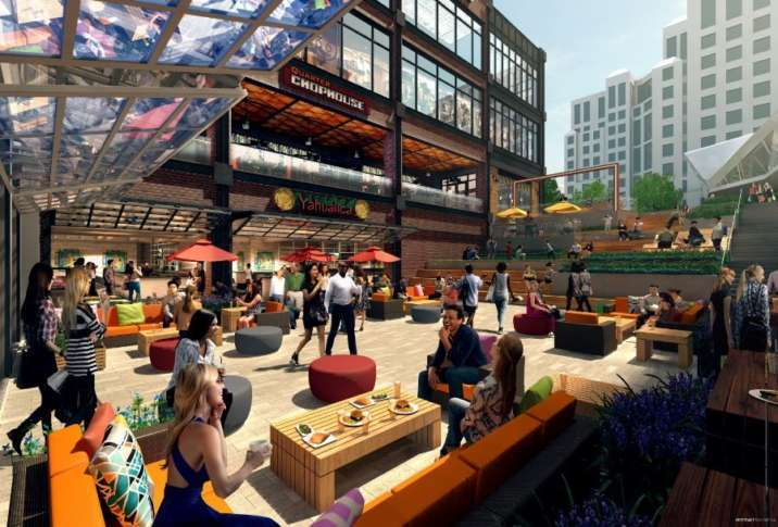 Image result for Newly announced Ballston Quarter restaurants include Ted's Bulletin, burger joint, coffee shop, seafood spot