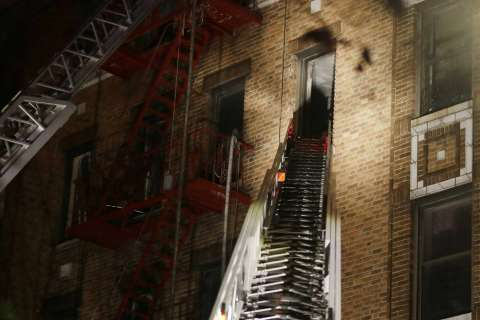 Photos: Deadly blaze in New York City kills 12